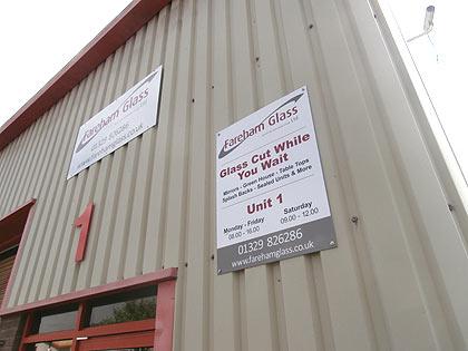 fareham glass supplies - premises